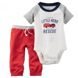 CONJUNTO CAMIBUSO LITTLE HERO