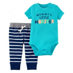CONJUNTO AZUL MONSTER