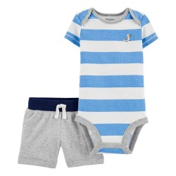 CONJUNTO SHORT MARINERO